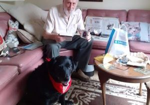 Terry and Dotty visiting Eddie